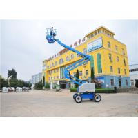 Buy cheap 5.54*1.75*2.0M Telescopic Boom Lift , Crawler Boom Lift 6500KG Weight Durable from wholesalers