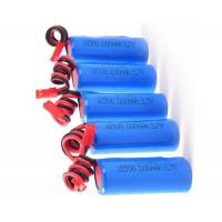 High Capacity Rechargeable 18650 Battery 3.7V 1100mah For Emergency Lighting Manufactures