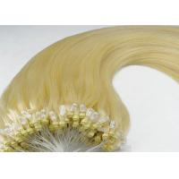 China Silky Straight Custom Human Hair Wigs 100 Remy Human Micro Ring Indian Remy Hair Weave on sale
