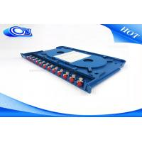 China 300 * 180 * 25mm Optical Fiber Patch Panel Rack Mount ODF For Indoor / Outdoor on sale