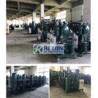 Quality Steam Turbine Oil Filtration Machine / Oil Water Separator 3000LPH TY-50 for sale
