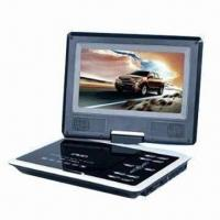 Portable DVD Player with High Resolution Color TFT LCD Full Screen Display Manufactures