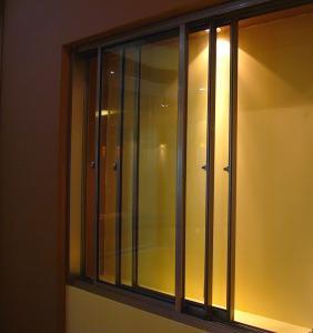 Multi-Leaf Non-Thermal Break Aluminum Sliding Window (SW-012) Manufactures