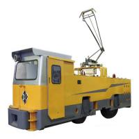 55 ton electric locomotive for big mines or tunneling construciton haulage Manufactures