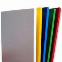 Water-resistant PVC Foam Boards with Smooth Matte Surface Finish on Both Sides, 1 to 20mm Thickness Manufactures