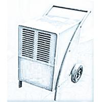 China Quiet Commercial Portable Dehumidifier Big Wheel With Handle , R410a Refrigerant on sale