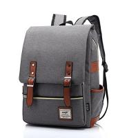 Casual 600d Polyester Grey College Teenager Travel Backpack Medium Capacity Manufactures