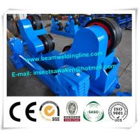 Blue Conventional Welding Rotator , Self Aligned Welding Turning Rolls Manufactures