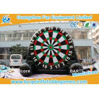 Velcro Giant Inflatable Football Game Single Dart Board Soccer Football Dart Manufactures