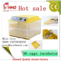 Quality Cheap Mini Poultry Full automatic poultry egg incubator setter hatcher transparent For Sale with CE Approved for sale