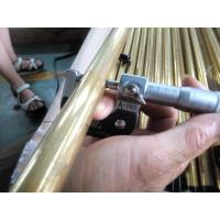 BRASS COPPER SEAMLESS BOILER TUBE ASTM B111 C44300 C68700 C71500 Used for Air Condenser 19.05,25.4MM ( M / W ) Manufactures