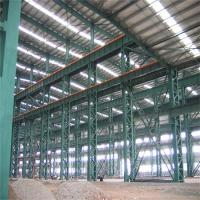 Customize H Section Garage Steel Frame With Colored Steel Sheets Anti - Shock Manufactures