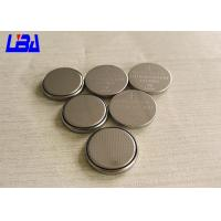 Customized CR2032 3V Lithium Button Batteries High Energy Density Manufactures