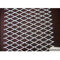 Hot Dipped Galvanized Steel Expanded Metal Sheet With Thickness 0.3mm For Building Manufactures
