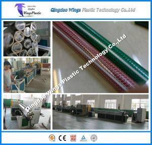 China pvc garden pipe making machine on sale