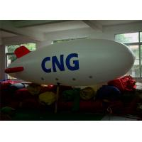 0.2m PVC Helium Airship Balloon Inflatable Advertising Products With 6m Long Manufactures