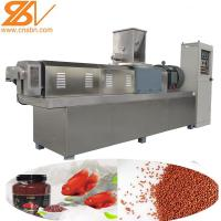 China Animal Feed Extruder Machine Processing Line 380v / 50hz Voltage 1 Year Warranty on sale