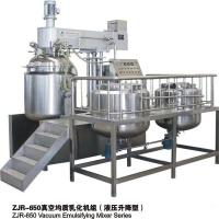 Touch Screen Controlled Vacuum Emulsifying Mixer For Homogenizing Mixing Manufactures