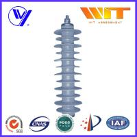 33KV Gray Polymer Antenna Lightning Surge Arrester Electrical Equipment Protection Manufactures