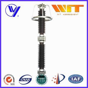 Metal Oxide High Voltage Lightning Arrester 220KV 10KA with Grading Ring Manufactures