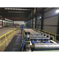China Sawing Rock Wool Wall Roof Sandwich Panel Production Line 3 - 8m / Min High Efficiency on sale