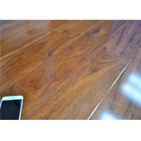 High Gloss Grey Laminate Flooring Unilin Click AC4 Against Wear / Staining / Fading Manufactures