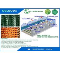 China 2000*600*150mm evaporative poultry house cooling pad Greenhouse mist cooling systerm evaporative cooling pad for sale