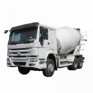 Manual Transmission Semi Trailer Concrete Truck / Cement Carrying Trucks 8 CBM Manufactures