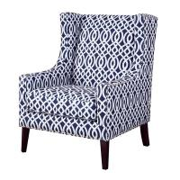 Living Room Printed Accent Chairs Chair With Silver Nail Head Trim Manufactures