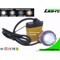 25000 Lux Rechargeable Underground Coal Mining Lights Waterproof 2A Charging Current Support SOS Manufactures