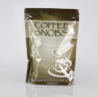 Kraft Paper Tin Tie Foil Lined custom print Coffee plastic Bag with Valve Manufactures