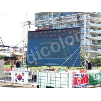 Higher Brightness K8 / K10 Outdoor SMD Led Display Wide Viewing Angle Manufactures