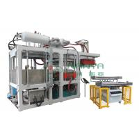 Green Automatic Paper Plate Making Machine / Disposable Plates Making Machine Manufactures