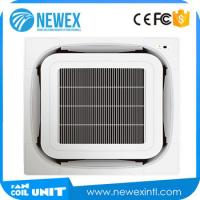 NEWEX Factory Price 8-way Cassette Type Fan Coil Unit(G Style), Ceiling Mounted Air Conditioner Manufactures