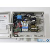 Single Pump Water Pump Controller , Single Phase Submersible Control Panel For Flats Manufactures
