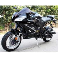 Buy cheap Single Cylinder 200cc Street Legal Motorcycle 4 Stroke Air Cool CVT With Key from wholesalers