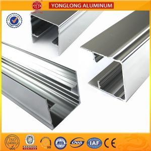 1.1 Thinckness Polished Aluminium Alloy Profile Surface Brightness Manufactures
