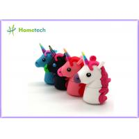 Promotional Unicorn Real Capacity Horse Pen Drive , Micro Usb Memory Stick Minion Manufactures