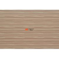 Wood Grain Poplar MDF Slatwall Panels , Decorative 15mm / 18mm 4 x 8 MDF Board