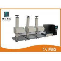Numbers Dot Pin Marking Machine , Dot Peen Engraving Machine For Nameplate Manufactures