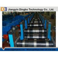 Adjustable Speed Storage Rack Roll Forming Machine PPGI With Hydraulic Cutting System Manufactures