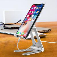 China COMER Adjustable Cell Phone Tablet Desk Stand Holder Smart Mobile Bracket for iPad Samsung iPhone on sale