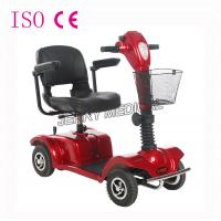 China 9 Inch Tire Lightweight Travel Mobility Scooters For Disabled Adults on sale