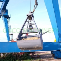 3 CMB 2 Rope Coal 3 Cubic Mechanical Grab Bucket Manufactures
