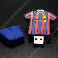 Clothes pen drive soccer clothing series flash drive bulk usb memory stick 2.0 USB Stick Manufactures