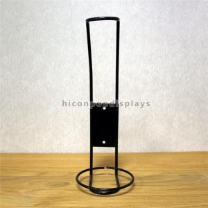China Metal Counter Display Racks Table Top Single Bottle Wine Display Racks Commercial on sale