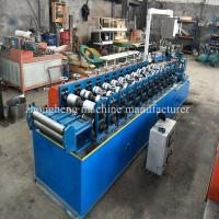 Buy cheap ZH Cold Steel Omega Aluminium Profile Making Machine With None Stop Cutting from wholesalers