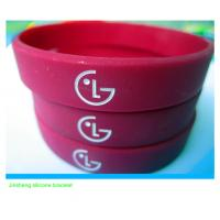 Quality hot selling LG silicone wristband for promotion for sale