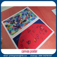 Quality Canvas Print Poster Banner for Aluminum Wall Frame Manufactures