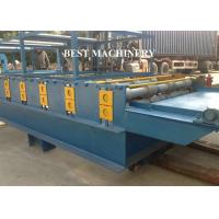 China SGS Roof Tile Roll Forming Machine Color Steel Glazed , double layer roll forming machine on sale